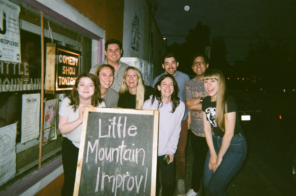 Little Mountain Improv Cast 2019